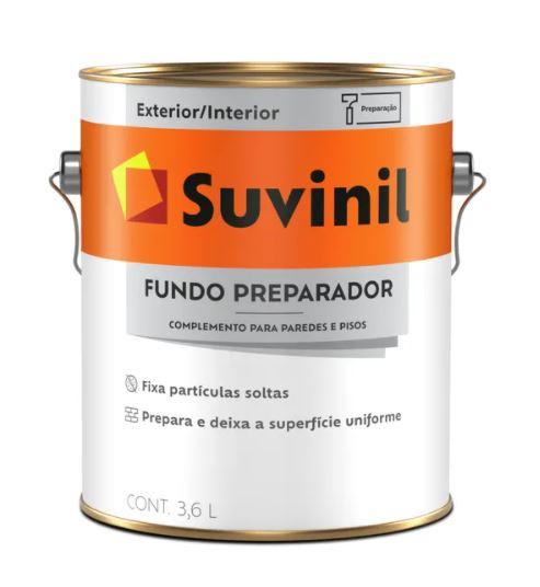 Fundo Preparador para Paredes Suvinil Galão 3,6L