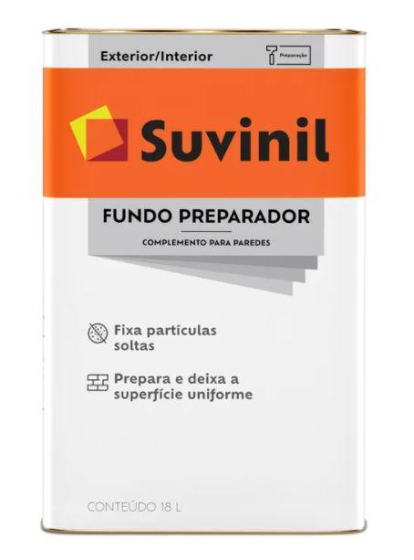 Fundo Preparador para Paredes Suvinil Latão 18L  - Casa Mattos