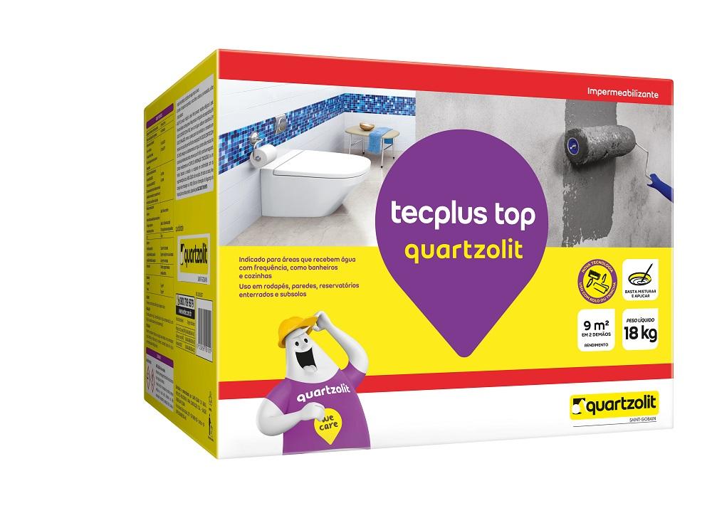 Impermeabilizante Tecplus Top 18kg - Quartzolit