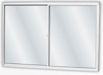 Janela MGM Soft De Correr 2 Folhas Móveis Alumínio