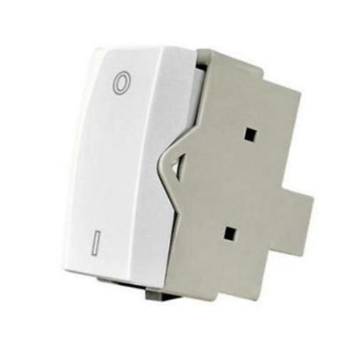 Modulo Interruptor Bipolar Simples 10a 250v Branco