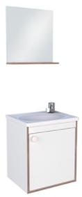 Kit de Banheiro em Madeira Pérola - Branco