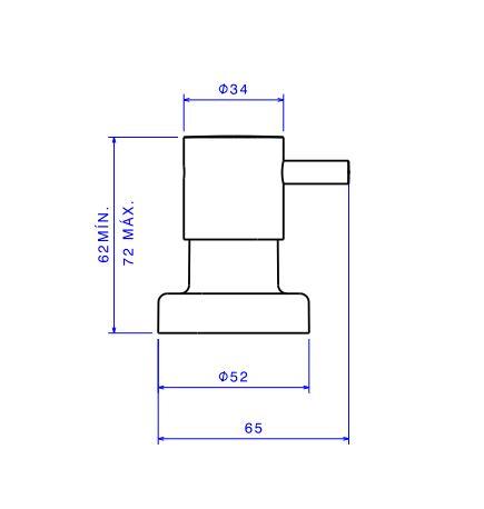 Kit de Torneira de Mesa e Acabamento de Registro Deca Link 1197.C.LNK.KIT1 para Lavatório  - Casa Mattos