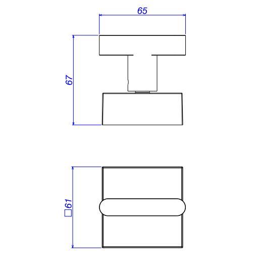 Kit Misturador de Mesa e Acabamento de Registro Deca Soul para Lavatório Cromado  - Casa Mattos