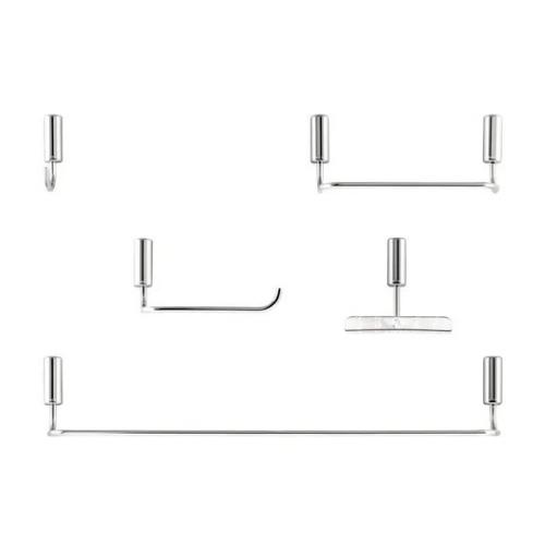 Kit para Banheiro Idea - Cromado