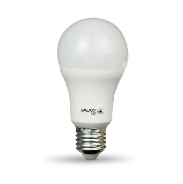 Lâmpada Bulbo de Led Galaxy 1008R 9W E27 Bivolt Branca