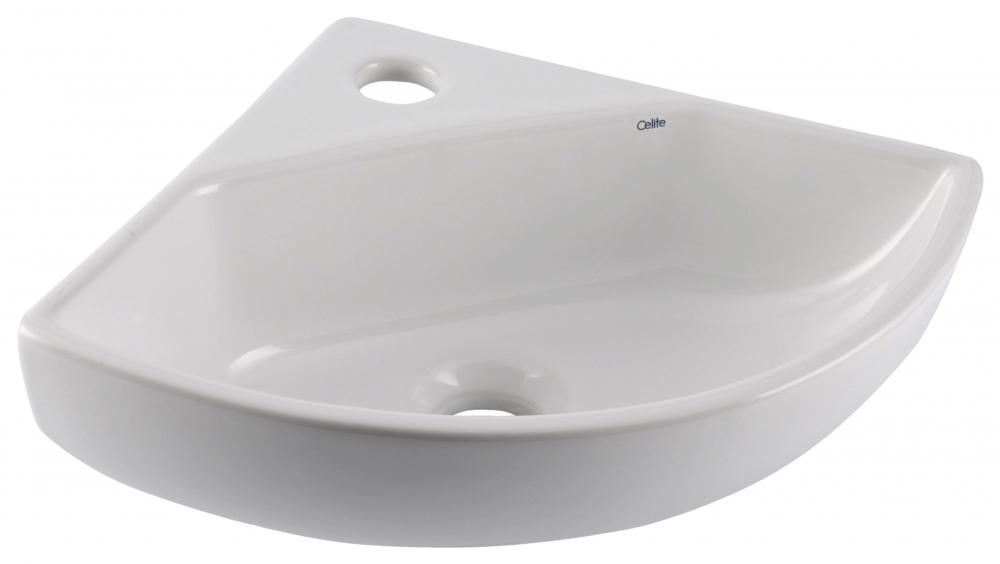 Lavatório Suspenso Canto Oval P- Branco - Celite