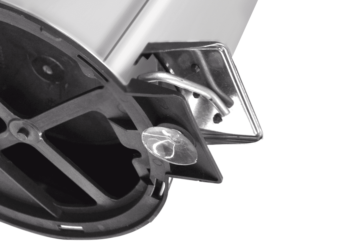 Lixeira Tramontina Inox c/ Pedal 94538/105 5 L  - Casa Mattos