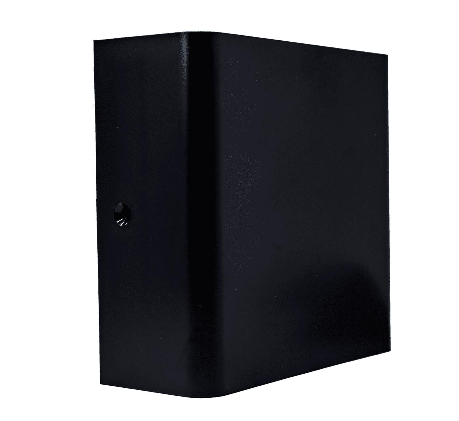 Luminária Arandela Led Kian 12820 IP65 3W 3000K Preta