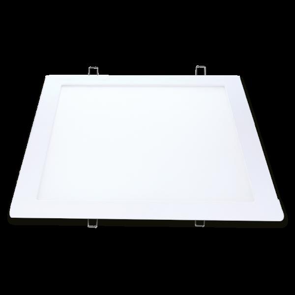 Luminária Avant de Embutir Led Quadrado Bivolt 12W 6500K Branca  - Casa Mattos
