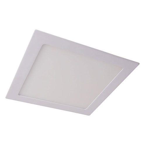 Luminária De Embutir Led Slim Quadrada 24w 6500k  - Casa Mattos