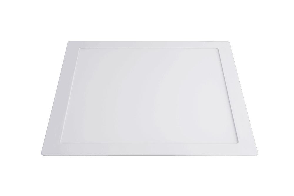 Luminária De Embutir Led Slim Quadrada 24w 6500k
