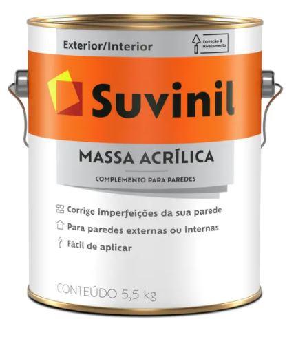 Massa Acrílica Suvinil Galão 5,5kgs