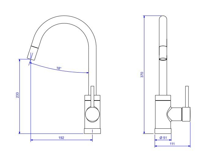 Misturador Monocomando Deca Spin Motion 2265.C de Mesa para Cozinha Cromado  - Casa Mattos