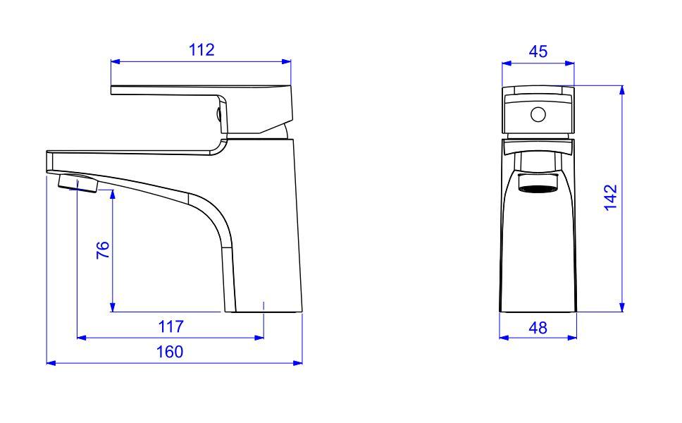 Misturador Monocomando Deca De Mesa Leve Para Lavatório 2875.C26 Cromado  - Casa Mattos