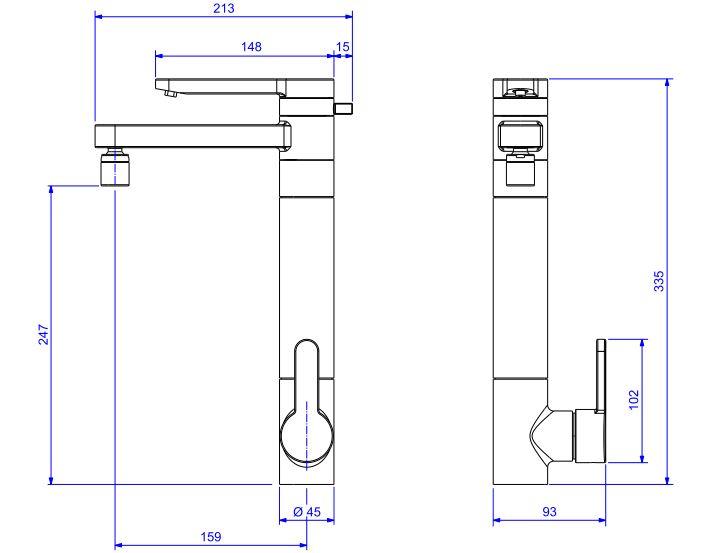 Misturador Monocomando Deca  para Cozinha Twin com filtro bancada 2240.C Cromado  - Casa Mattos