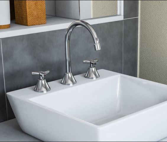 Misturador para Banheiro Docol Bica Alta Primor 00671906 Cromado  - Casa Mattos