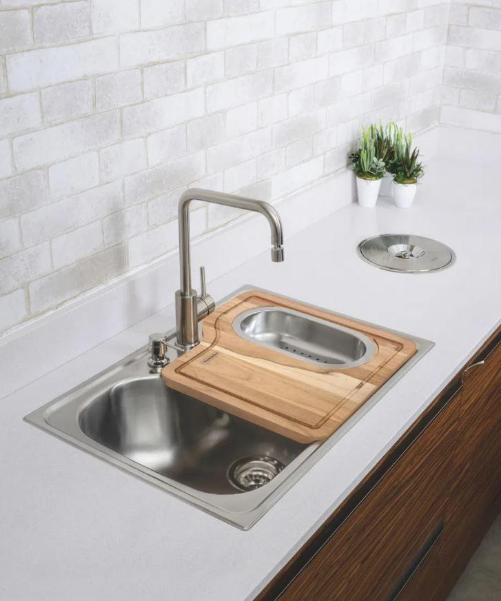 Misturador Tramontina Monocomando Angolare de Mesa para Cozinha 94520/012 Inox  - Casa Mattos