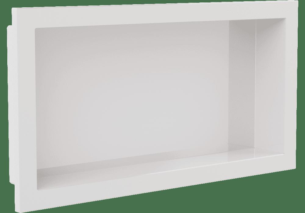 Nicho de Parede  Arquitech  para Embutir 30x60 Branco