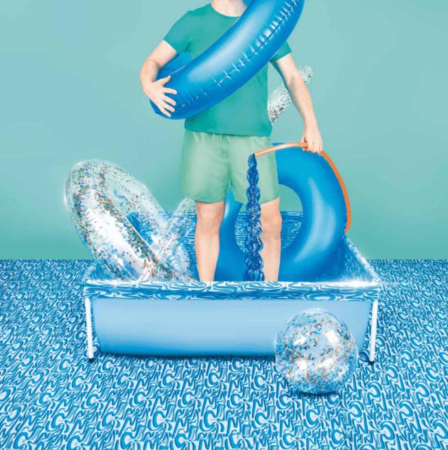 Piscina Mor 400 Litros Azul  - Casa Mattos
