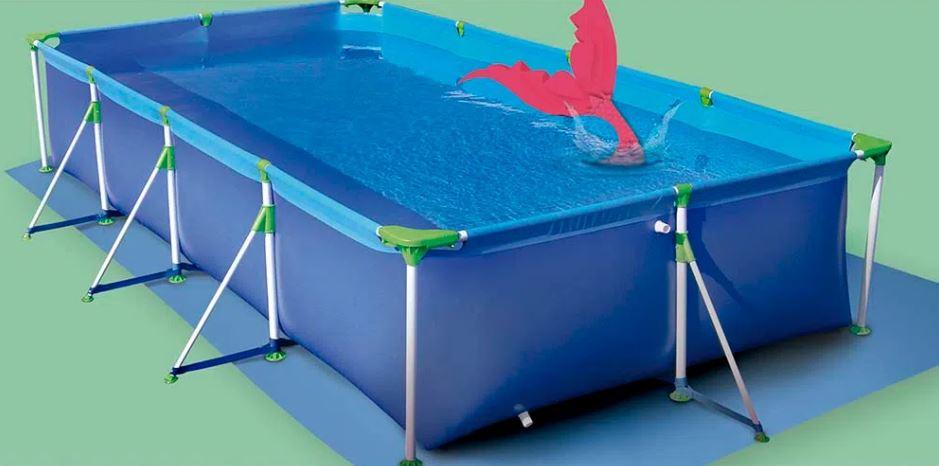 Piscina Mor Premium 6.200 Litros Azul  - Casa Mattos