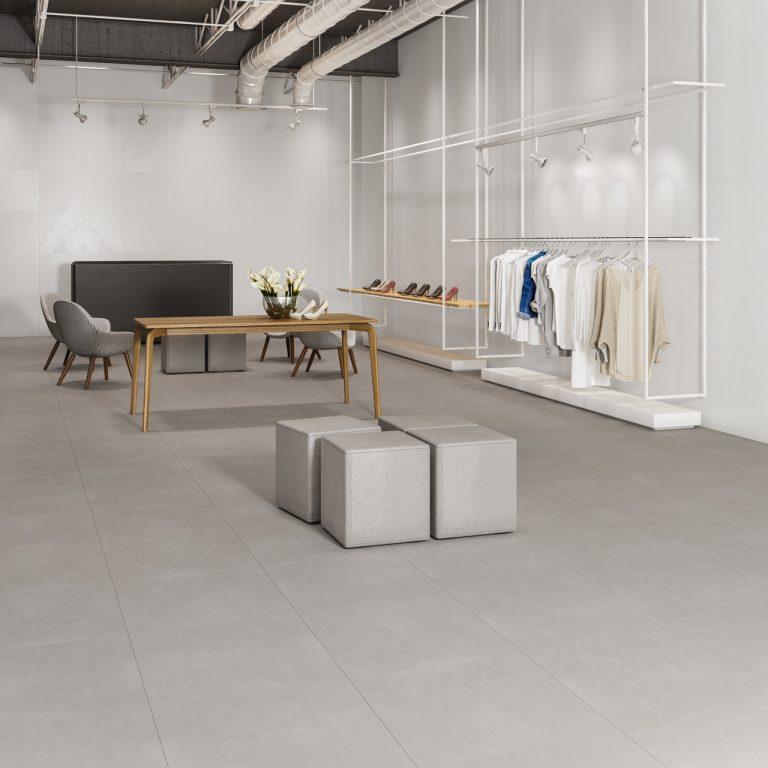 Piso 60X60 Concrete Grafite HD -  Caixas com 2,5m² - Incesa  - Casa Mattos