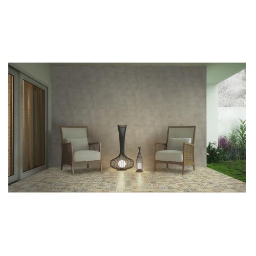 Piso Cerâmico Acetinado - 170021 - 57x57 - Caixas com 2,32 m² - Vivence  - Casa Mattos