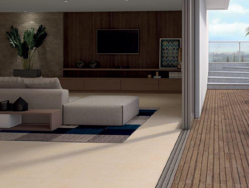 Piso Incesa Deck Aroeira 60x60 cm Externo  - Casa Mattos