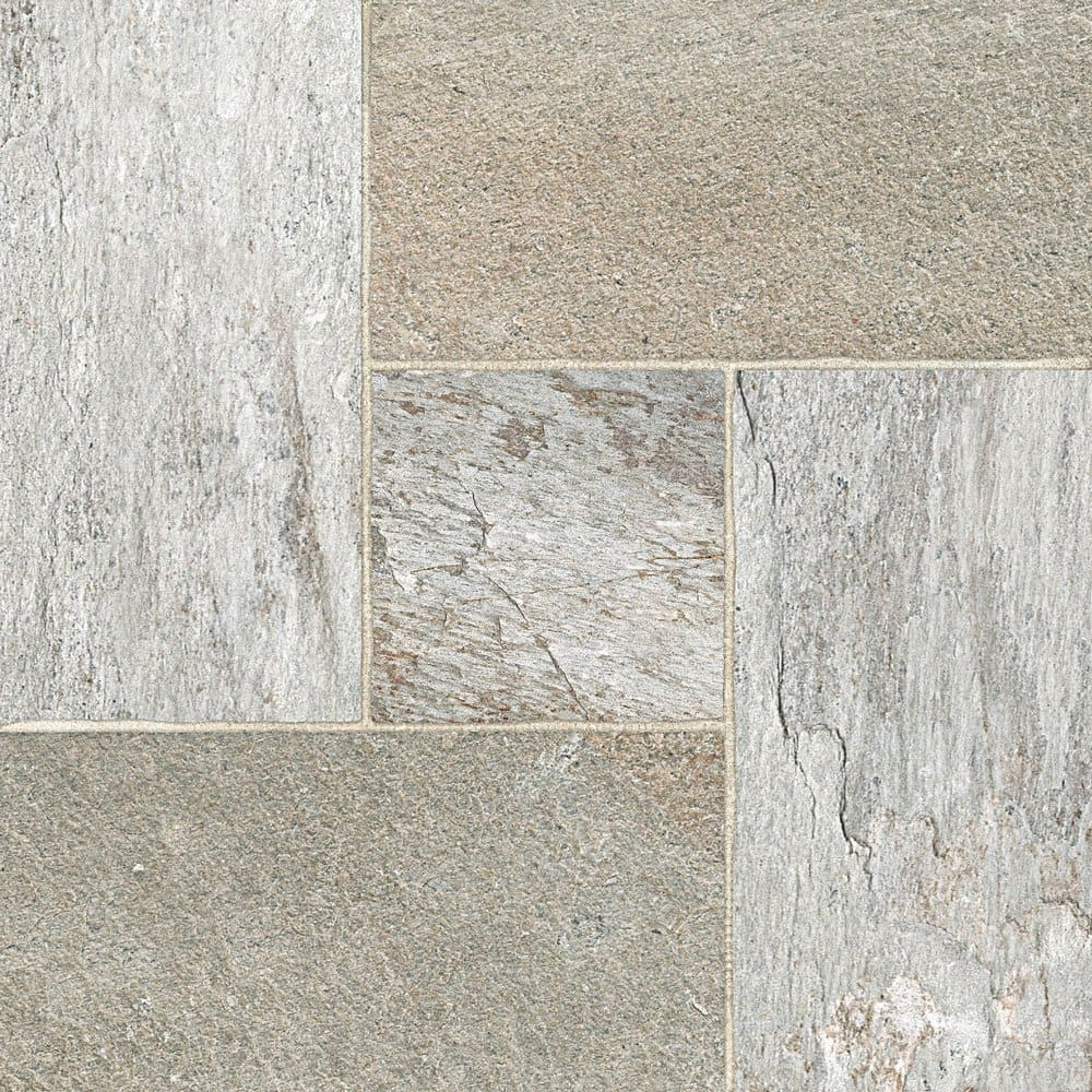 Piso Triunfo Pedra Basalto 57x57cm Acetinado