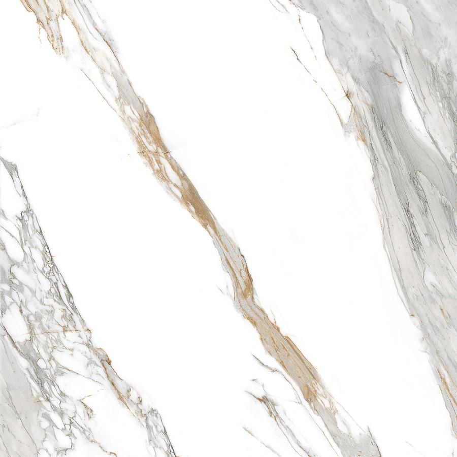 Porcelanato Biancogres Calacata Oro Satin Acetinado Reficado 90x90cm