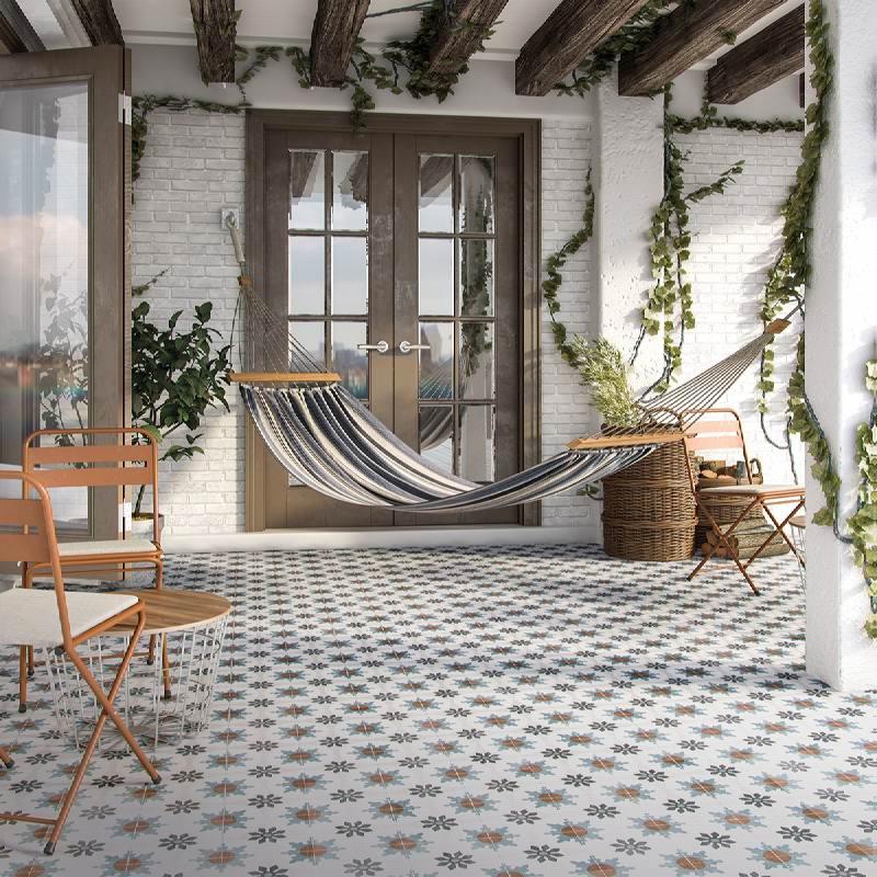 Porcelanato Biancogres Urban Vintage Acetinado Retificado 60X60cm  - Casa Mattos