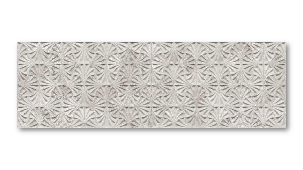 Porcelanato Ceusa Leque Cimento 32x100cm Acetinado  - Casa Mattos