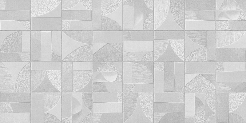 Porcelanato Damme Arts Blanc 62X121cm Acetinado  - Casa Mattos