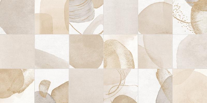 Porcelanato Damme Artsy Bege 62X121cm Acetinado  - Casa Mattos