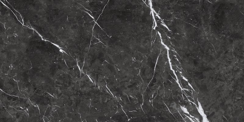 Porcelanato Damme Nero Marquina 62x121 cm Acetinado  - Casa Mattos