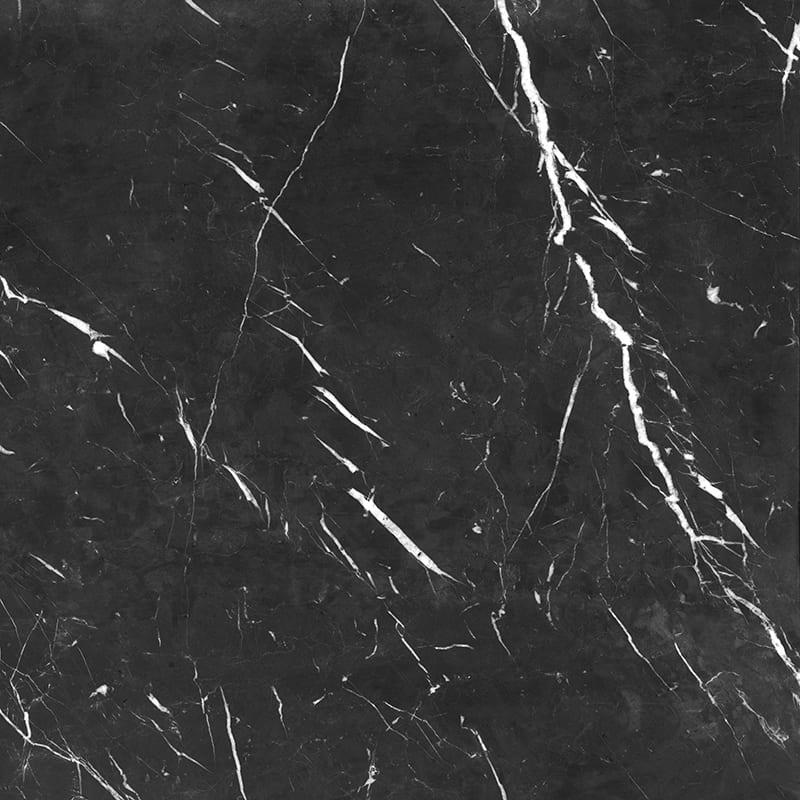 Porcelanato Damme Nero Marquina 82X82cm Polido  - Casa Mattos