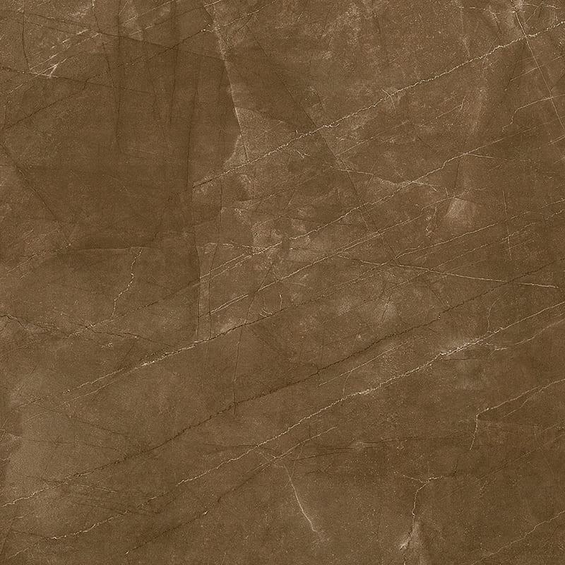Porcelanato Damme Pulpis Moka 82X82cm Polido  - Casa Mattos