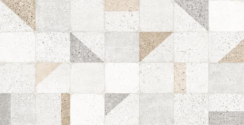 Porcelanato Damme Terrazo Decor 62X121cm Acetinado