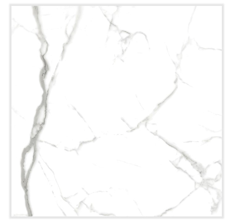 Porcelanato Delta Carrara Cristal Polido 70Cm x 70Cm