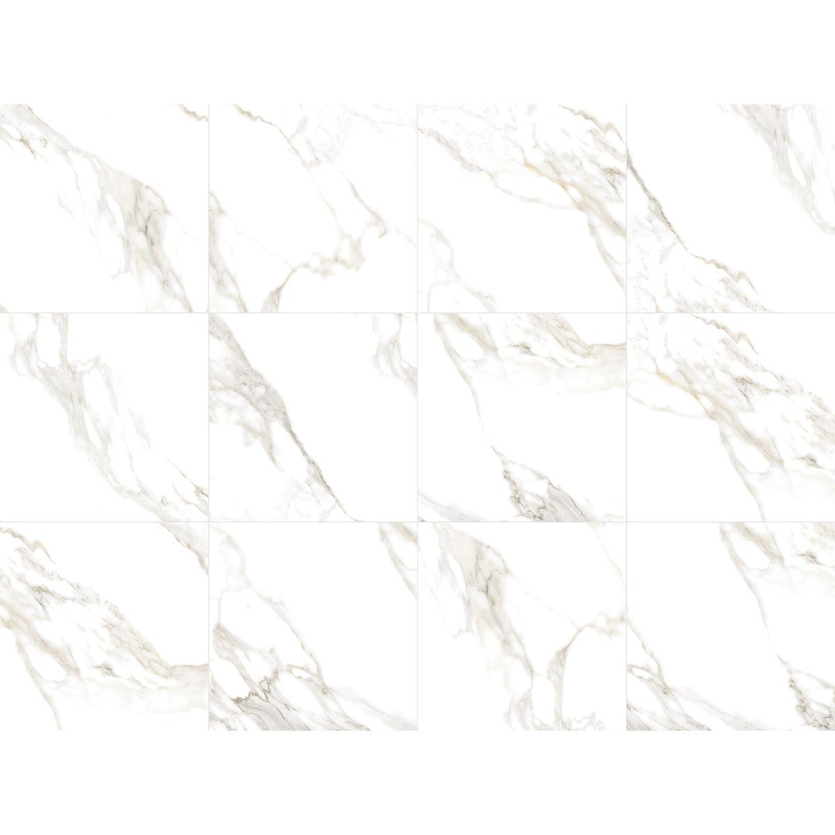 Porcelanato Delta Marmo Douro 70x70cm Polido  - Casa Mattos