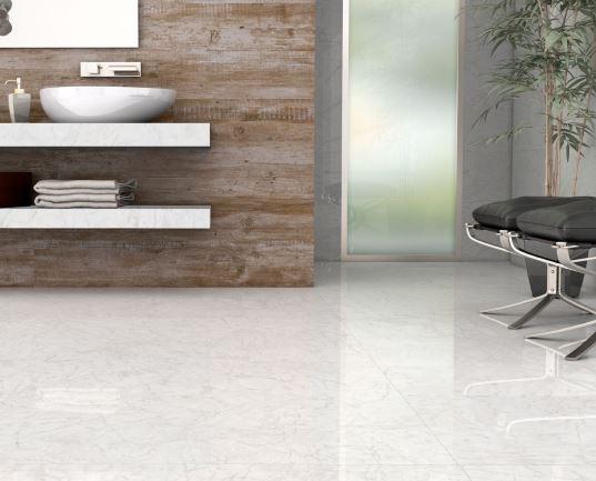 Porcelanato Embramaco Carrara Gioia Lux Plus 82x82cm Polido  - Casa Mattos