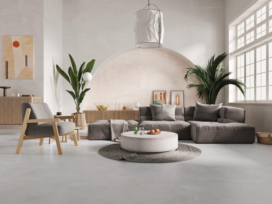 Porcelanato Incepa Arenna Bege 90X90cm Acetinado  - Casa Mattos