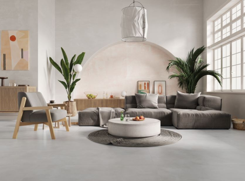 Porcelanato Incepa Pro Concrete 61x61cm  Bold Acetinado  - Casa Mattos
