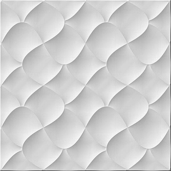 Porcelanato Itagres Botonê White 60X60cm Mate
