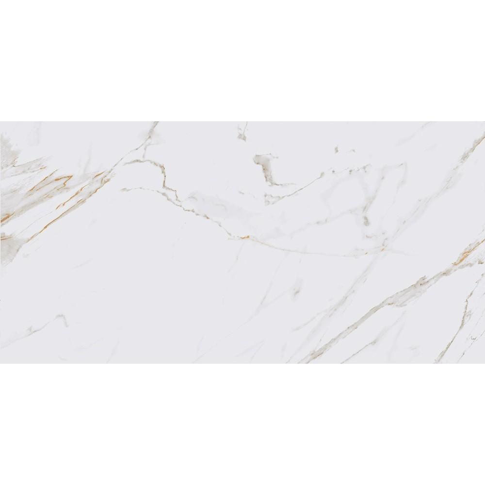 Porcelanato Marmo Calacata Bianco 52,7x105 Cx.1,7