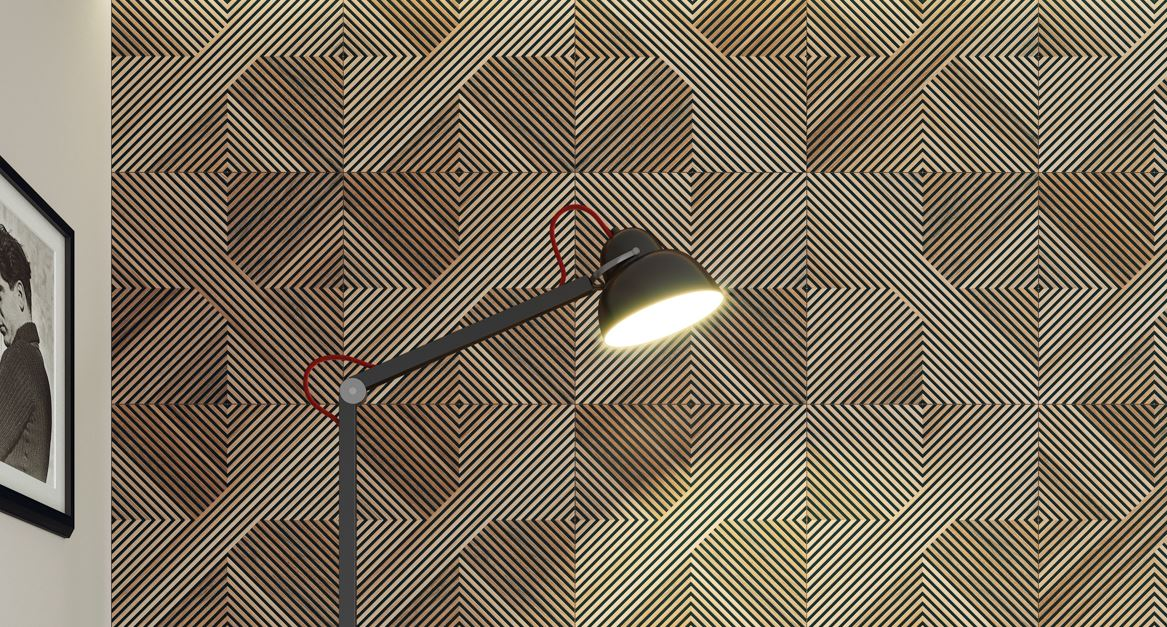 Porcelanato Portinari Tavola Decor Mix 60 x 60Cm  - Casa Mattos