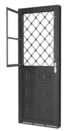 Porta Mista Xadrez 215x83x6 Direita