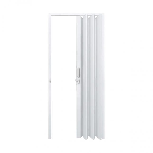Porta Sanfonada Fortlev em PVC 210x70cm Branca
