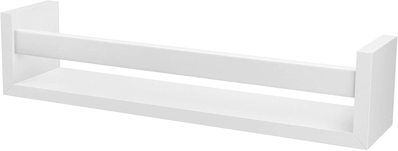 Prateleira Revisteiro Prat-k Decorare 10X10X70cm Branco