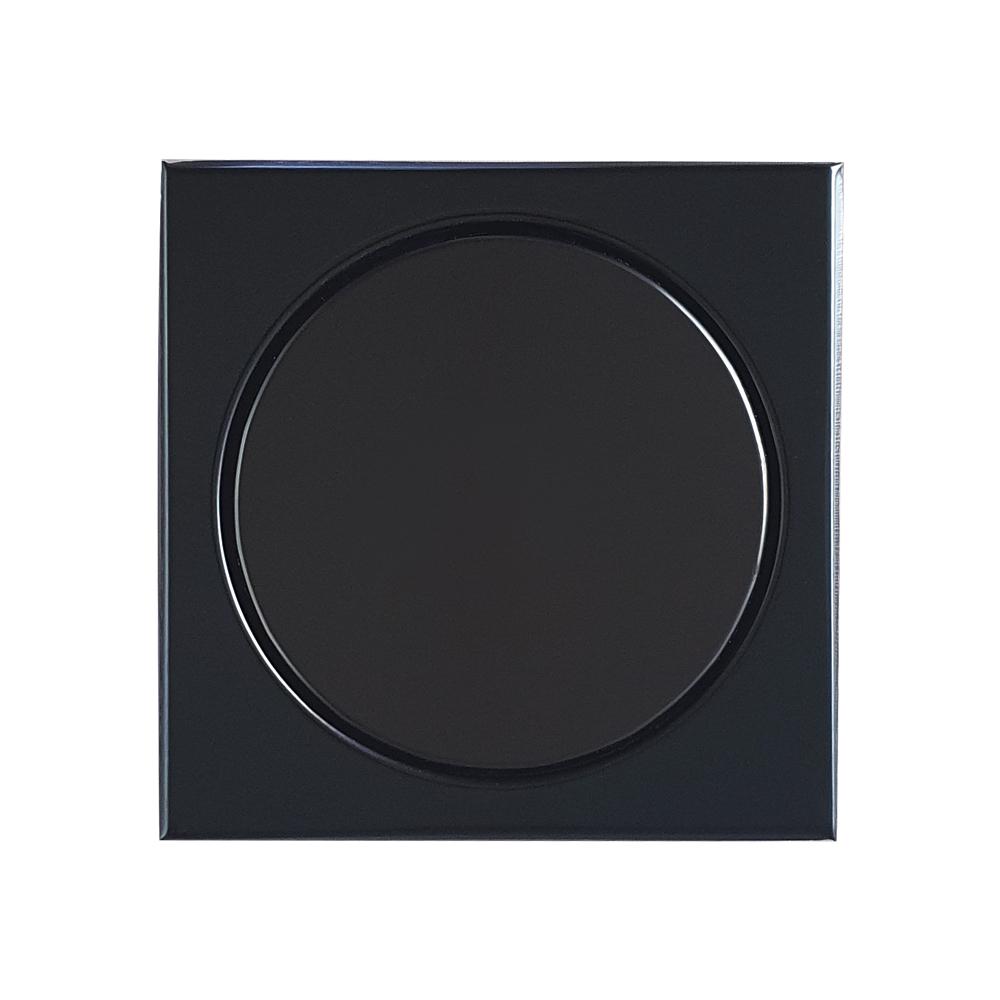 Ralo Elegance Mozaik RBLE1017 Preto Polido 10x10cm